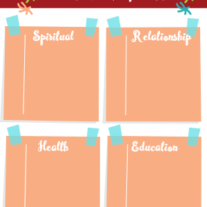 Goal Setting for Kids printable pack (DIGITAL)