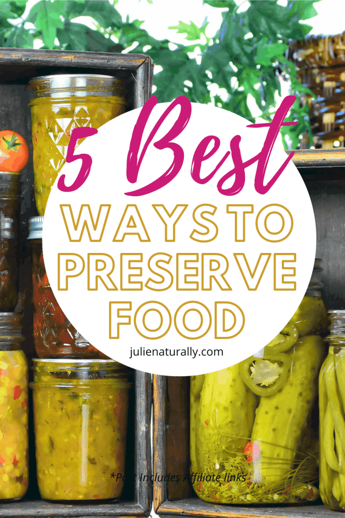 how to preserve food in jars in your kitchen