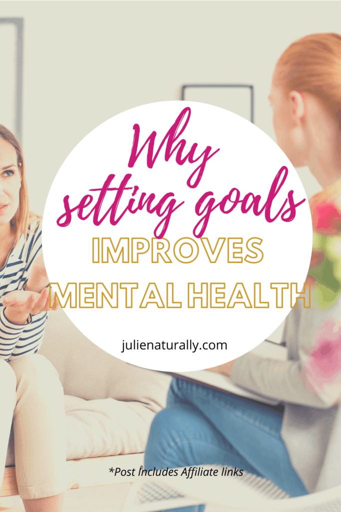 two women in a living room talking about why goals are important