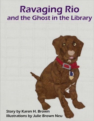 Ravaging Rio and The Ghost in the Library children's book cover thumbnail