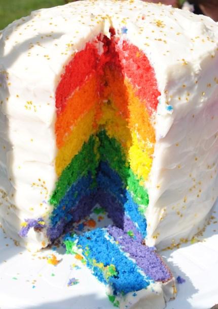 Rainbow cake copy