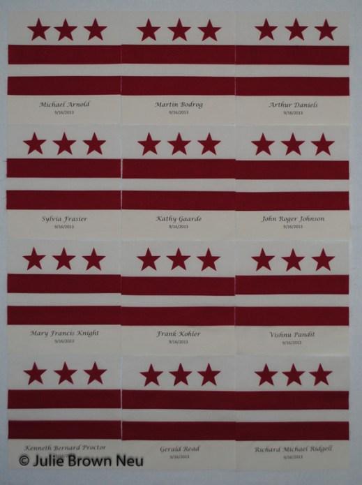 Washington, D.C. Navy Yard Shooting Victims