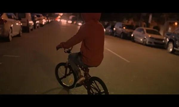Bicycle scene