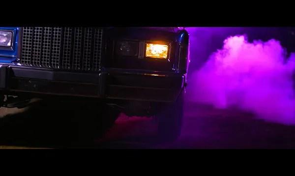Latin Trap Lincoln Car and fog