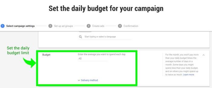 PPC Campaign Daily Budget