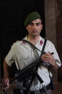 Turkish guard