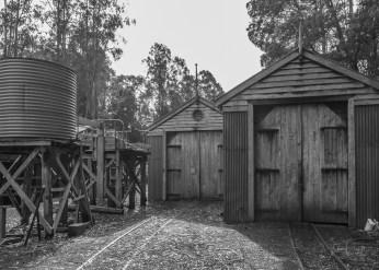 Vintage Rail Shed