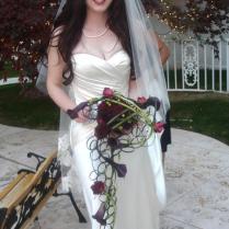 Unique cretaive wedding bouquet