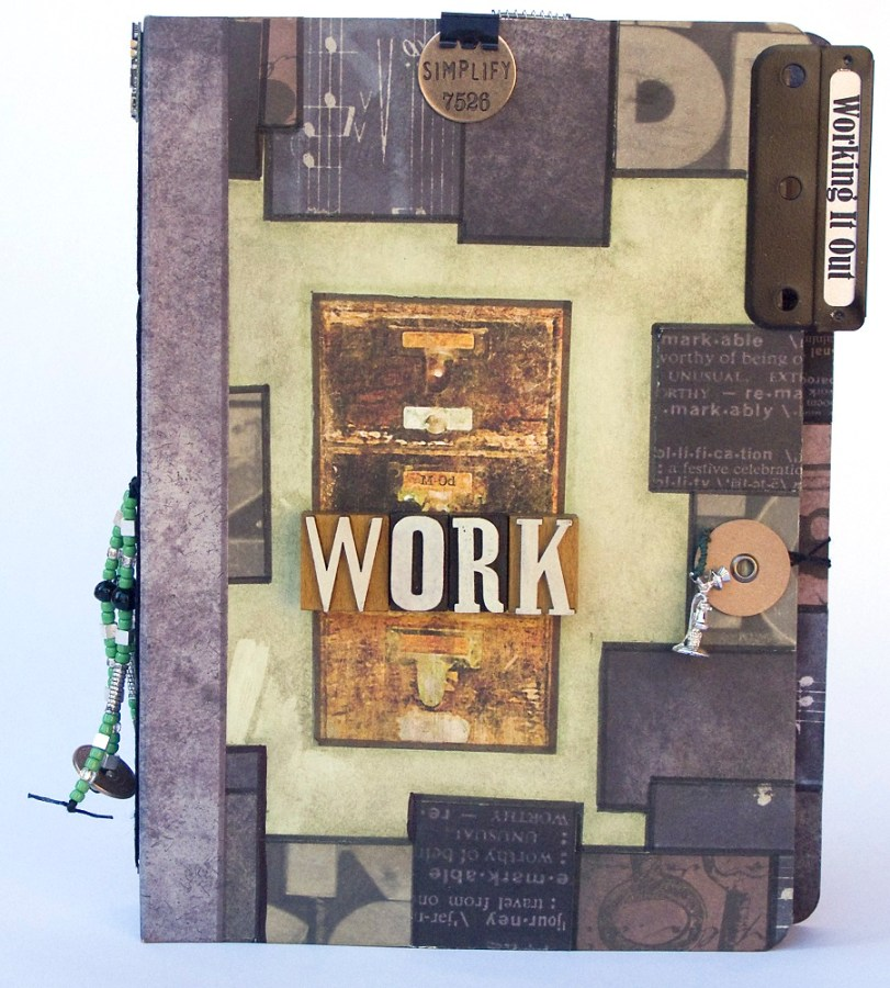 Working it Out Artist's Book cover