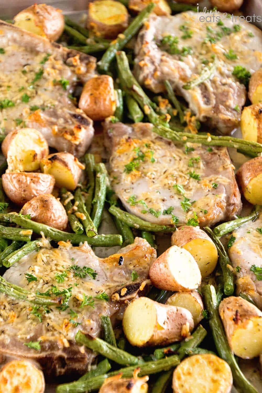 One-Pan Pork Chop Veggie Dinner forecasting