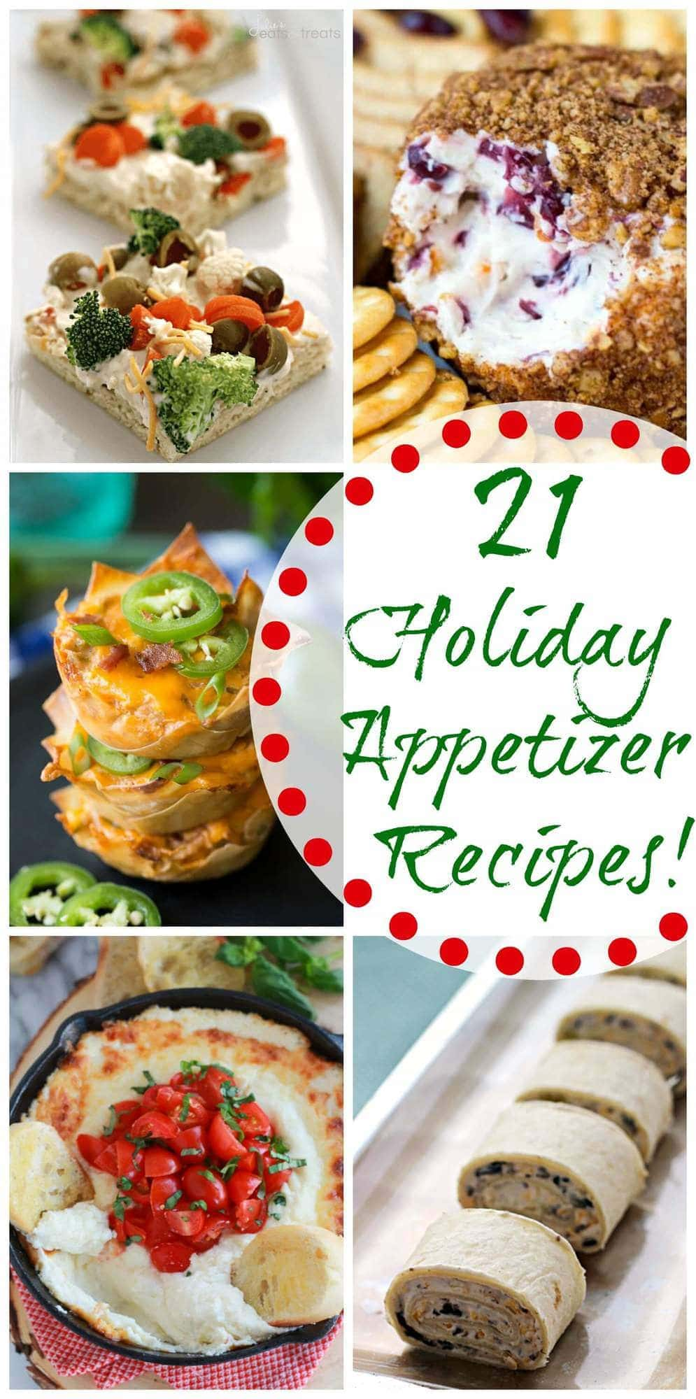 appetizer recipes holiday appetizers parties pizza cold cheese perfect wontons balls everything christmas recipe eats treats giveaway julie