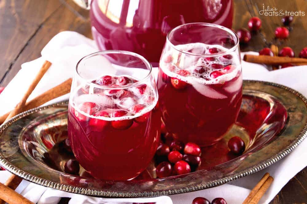 Skinny Spiced Cranberry Punch Landscape
