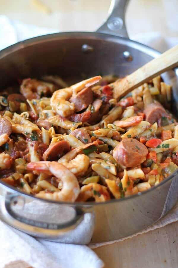 one_pot_shrimp_gumbo_pasta_2