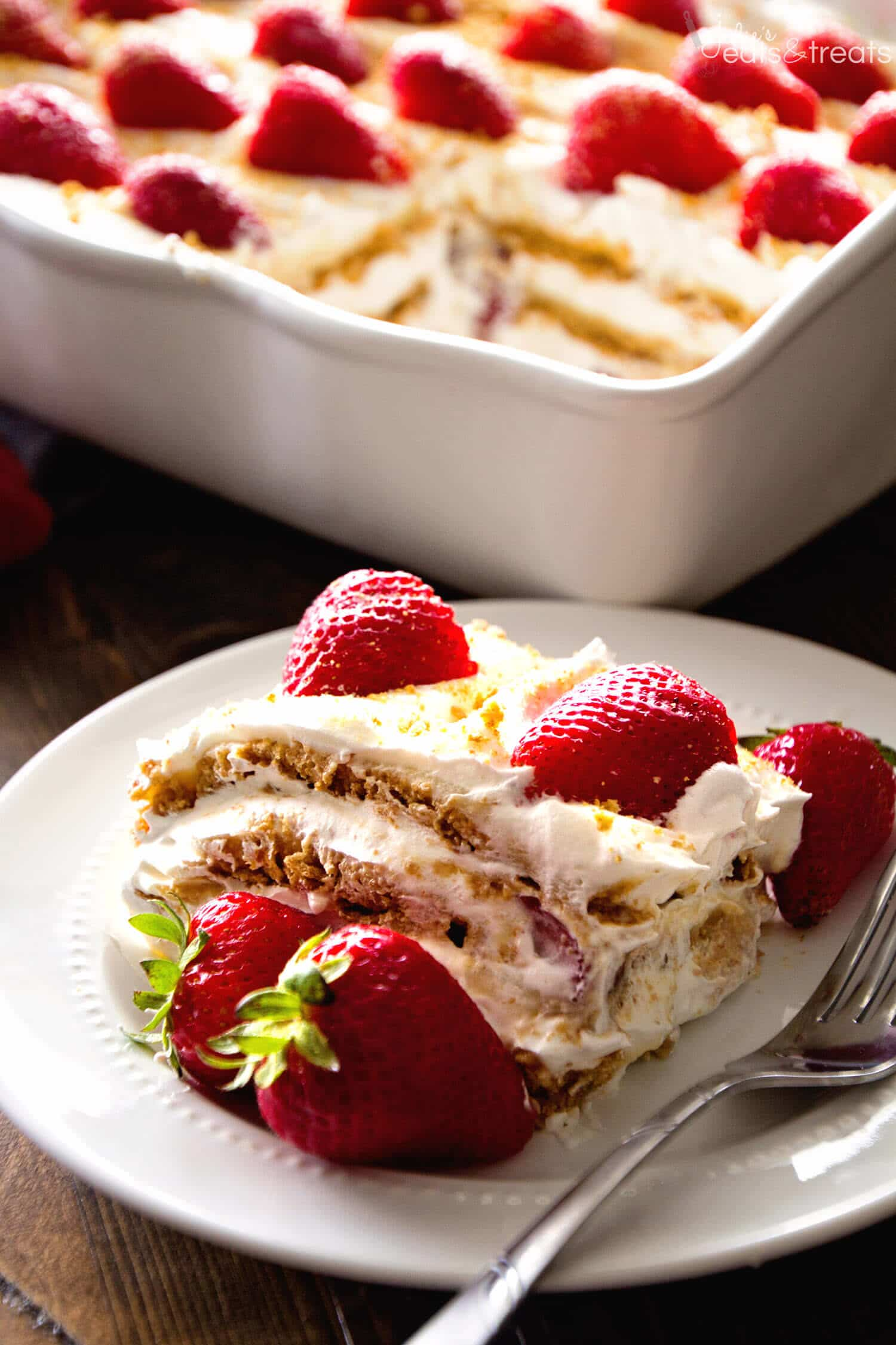 strawberry cheesecake cake no bake strawberry cheesecake icebox cake recipe julie s 7740