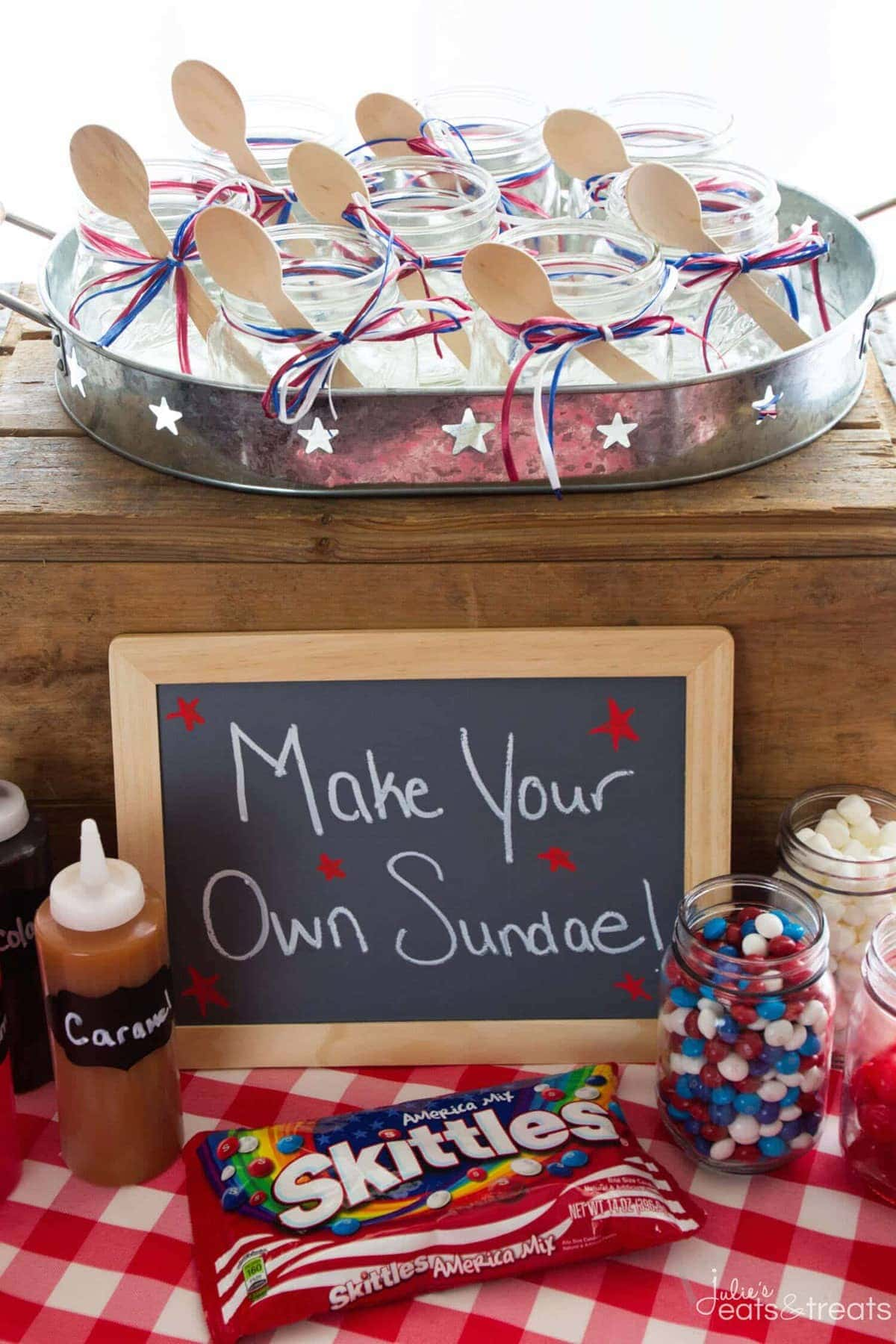 DIY Sundae Ice Cream Bar Party ~ Cool Off This Summer With A Festive DIY  Sundae
