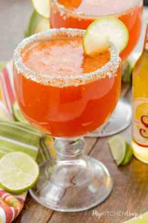 Chavela {Mexican Bloody Mary} ~ mykitchencraze.com