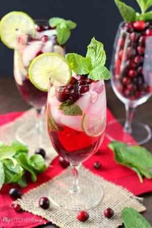 Cranberry Mojito ~ mykitchencraze.com