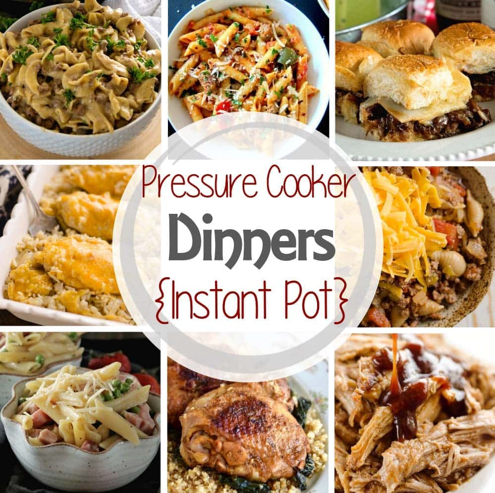 Instant pot pressure cooker dinner recipes julies eats treats pressure cooker dinner recipes forumfinder Choice Image