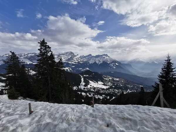 Rando ski à Villars