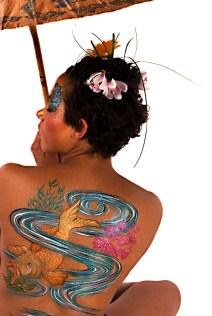 Juliet Eve, Face Painting & Body Art