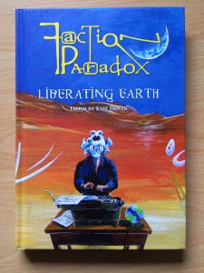 "Book cover: Faction Paradox, ""Liberating Earth"""