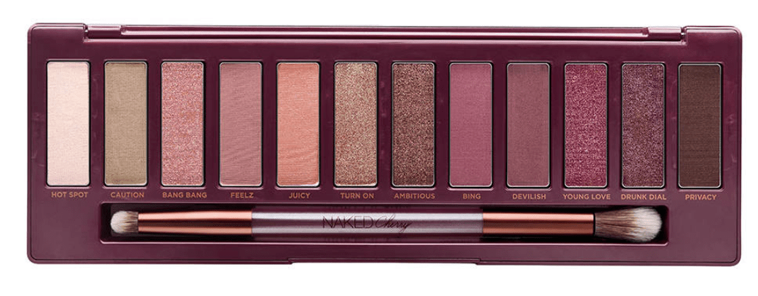 Drugstore Dupe for Urban Decay Naked Cherry Palette