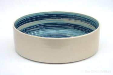 Sea ripple medium dish