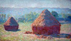 Haystacks-Hazy-sunshine-1891-Claude-Monet