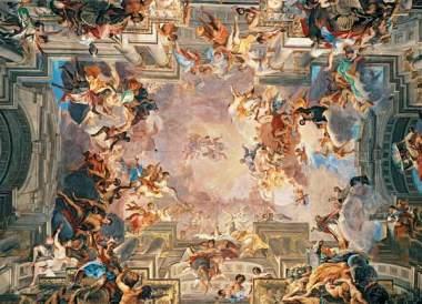 The-Entry-of-Saint-Ignatius-Into-Paradise-1707-by-Andrea-Pozzo