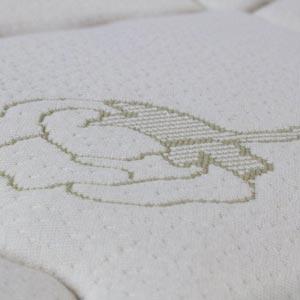 Sleep EZ Natural Cotton & Wool Zippered Mattress Cover