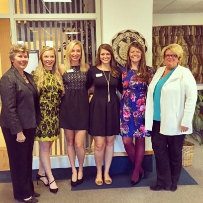 Establishing the Theta Iota Chapter of Kappa Delta at UND