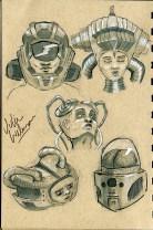 Sci-fi Heads