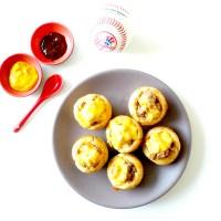 Pause américaine avec ma recette de Muffin Cheeseburger !