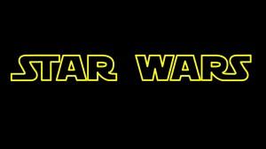 Logotipo de la famosa saga de Star Wars creación de George Lucas