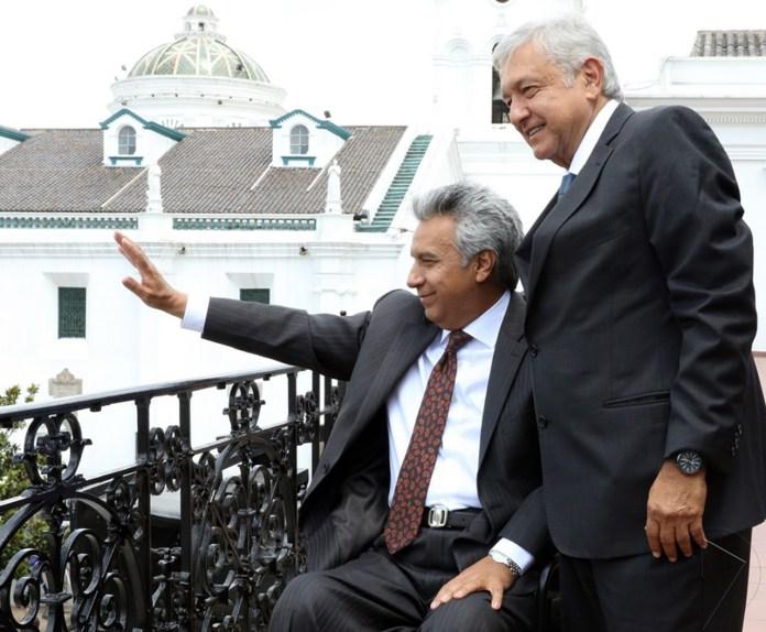 AMLO y Lenín Moreno