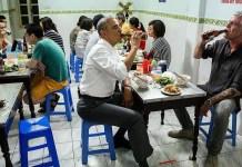 Obama y Bourdain