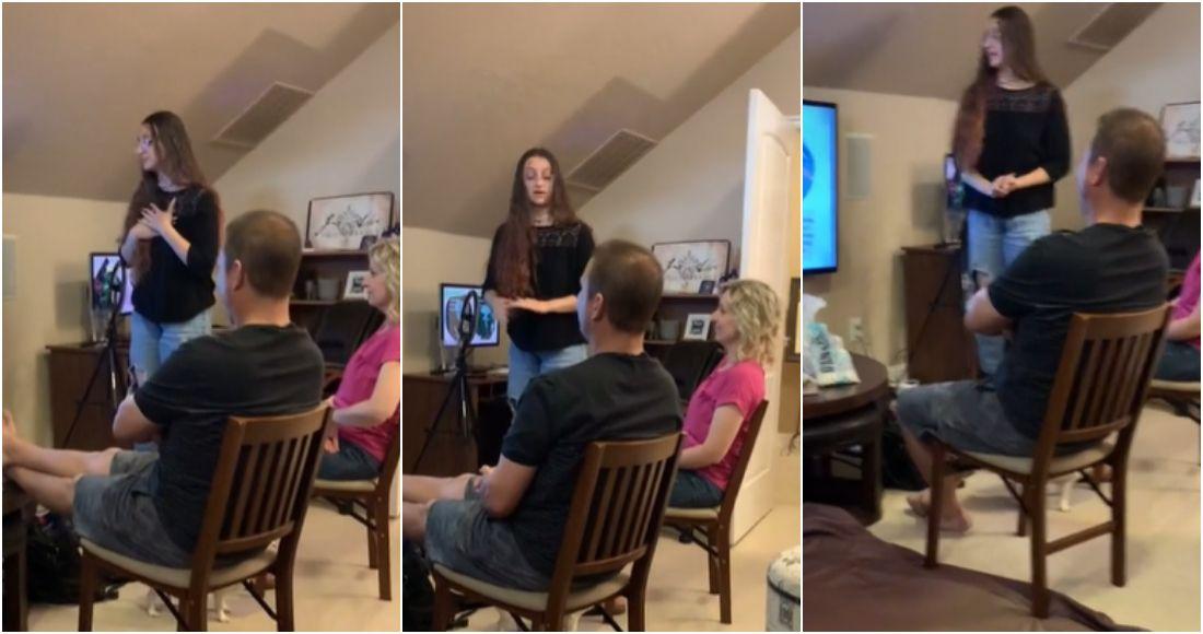 VIDEO: Joven crea presentación en PowerPoint para decir a sus padres que es  stripper (nota de Sin Embargo)   Julio Astillero