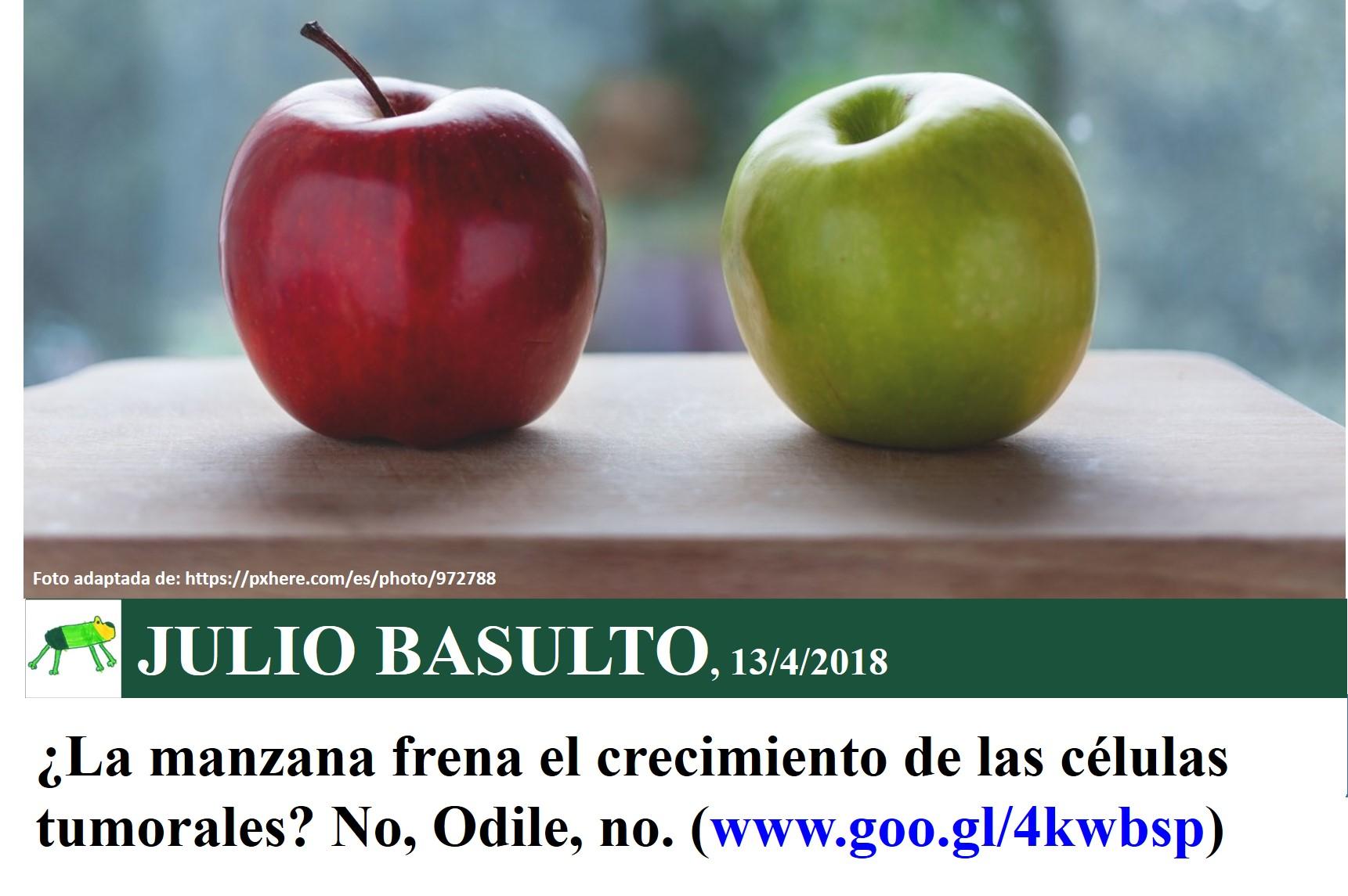 es mala la dieta de la manzana