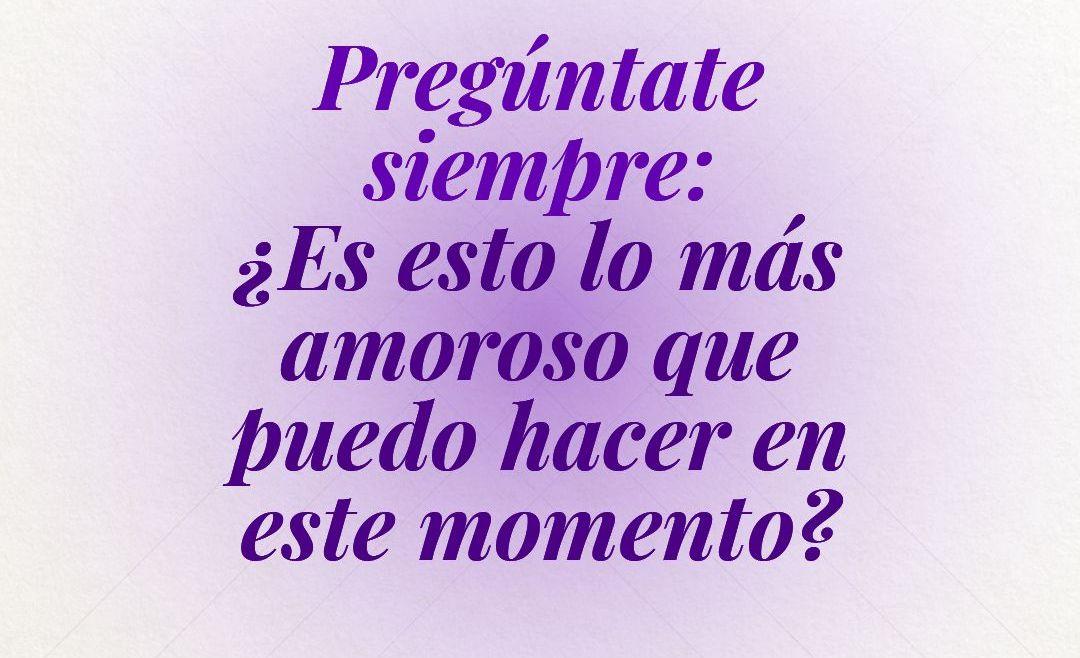 Pregúntate