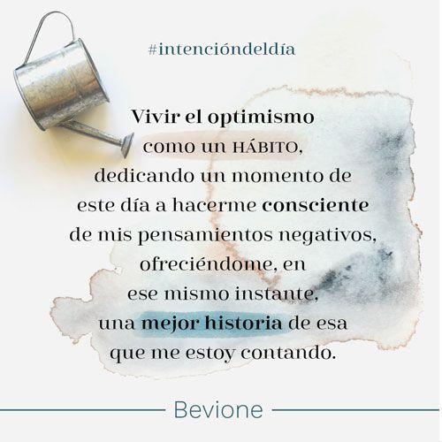 Vivir el optimismo como un hábito