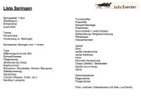 Liste für reine Springturniere