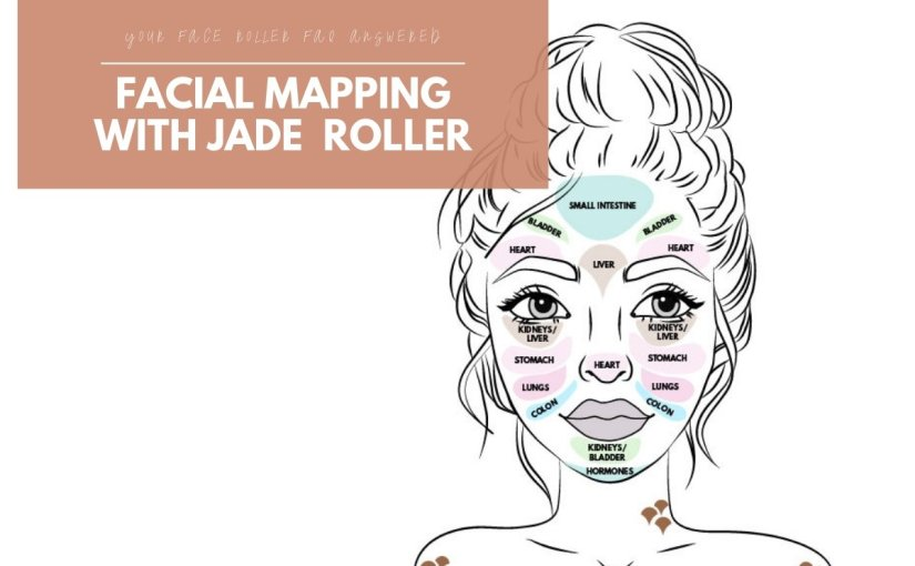 Facial Mapping with Your Crystal Jade Face Roller