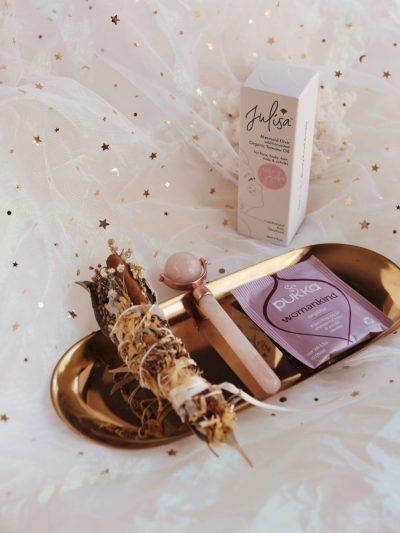 Rose Goddess 4-Piece Skin + Soul Kit Holiday Care Package