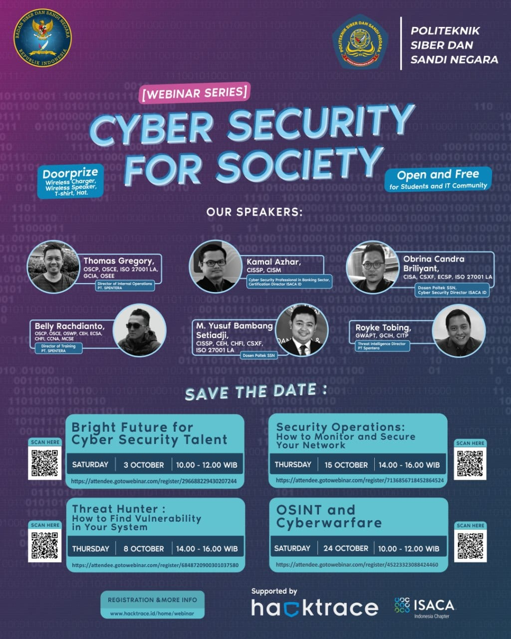 Webinar Cyber Security for Society