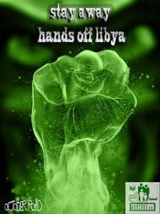 stay away hands of libya