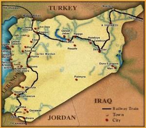 SyrienKarte