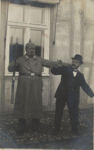 Ergreifung eines Mannes Polizei zeno