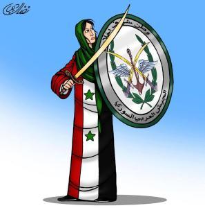 syria frau