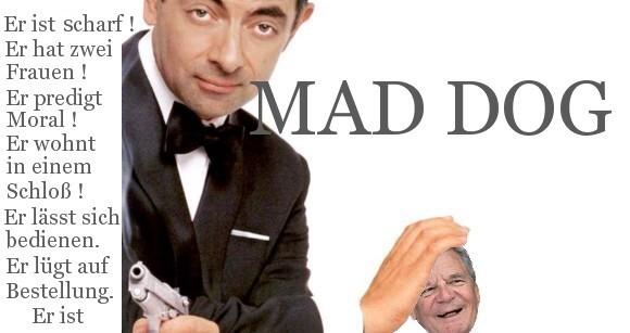 Mad Englishman und dog