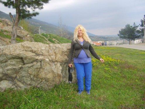 Sopot, Bulgaria, me pregnant